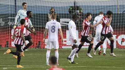 السوبر الإسباني.. بلباو يهزم ريال مدريد ويتحدى برشلونة