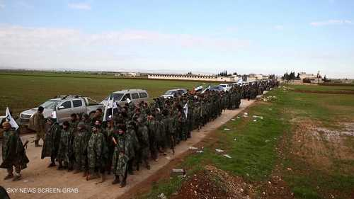 عودة مرتزقة سوريين من ليبيا إلى بلدهم