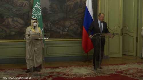 لافروف: نتفهم القلق السعودي تجاه نشاط إيران بالمنطقة