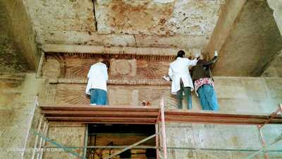 """بالصور.. افتتاح معبد """"إيزيس"""" بعد 150 عاما من اكتشافه"""