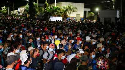"""تأثير بايدن.. """"جحافل المهاجرين"""" تنطلق إلى الولايات المتحدة"""