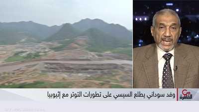 السيسي يستقبل وفدا سودانيا لبحث تطورات أزمة سد النهضة