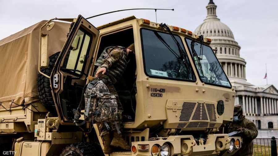 الأمن لن يتساهل بعد ما جرى بليلة اقتحام الكونغرس