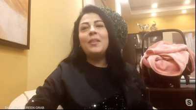 غنى بيات.. زوجها اختطف طفلها الرضيع وقصتها ملأت تويتر