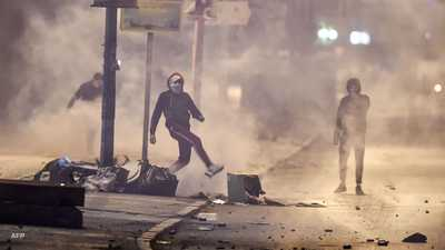 استمرار التظاهرات في تونس لليوم الثالث على التوالي