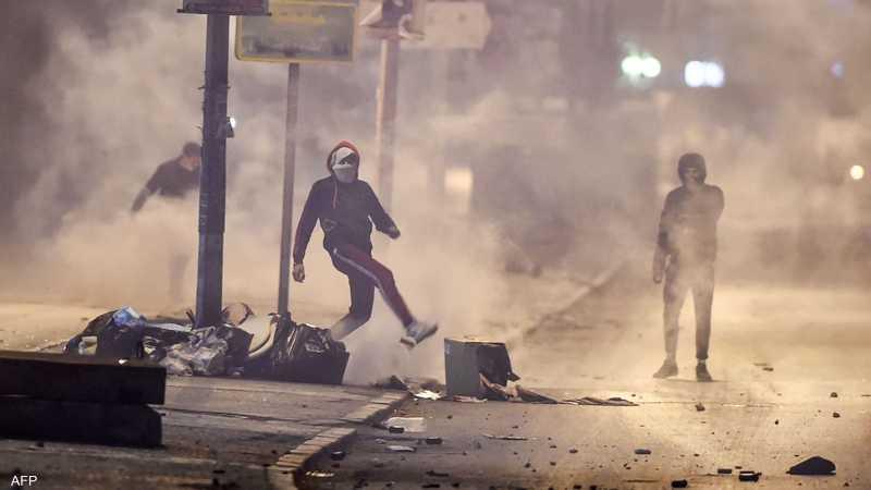 استمرار التظاهرات في تونس لليوم الثالث على التوالي | أخبار سكاي نيوز عربية