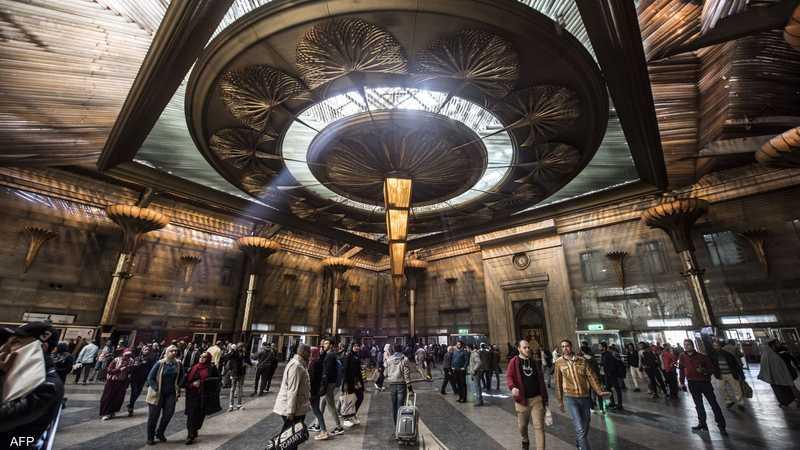 أرشيفية لإحدى محطات القطار في القاهرة