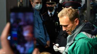 """بعد احتجاز نافالني.. الكرملين يؤكد: """"لا تهمنا العقوبات"""""""