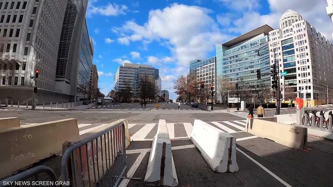 25 ألفا من الحرس الوطني في شوارع واشنطن