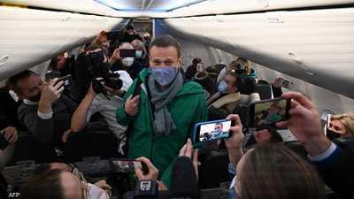 الداخلية الروسية تطالب بسجن نافالني 30 يوما