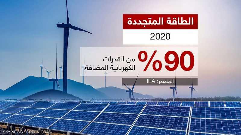 الطاقة المتجددة في طريقها لتصبح أكبر مصدر للكهرباء