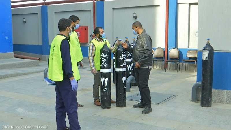 مبادرات أهلية في مصر لتوفير الأكسجين مجانا لمرضى كورونا