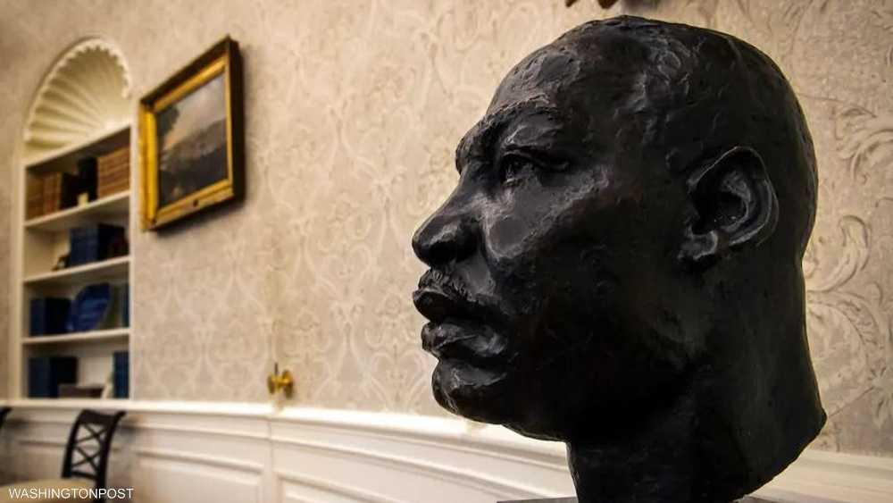 تمثال نصفي لمارتن لوثر كينغ