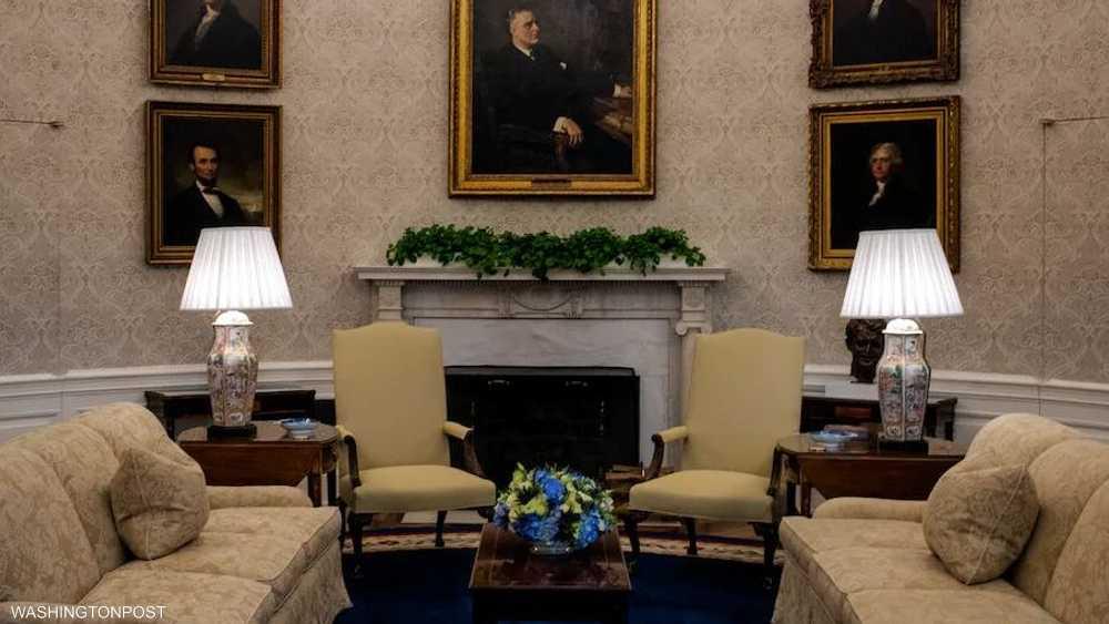 لوحات لرؤساء أميركيين سابقين