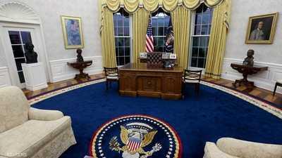 التغيير من أول لحظة.. ماذا فعل بايدن بديكور المكتب الرئاسي؟