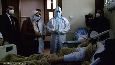 مصر.. انخفاض أعداد مرضى كورونا في الرعاية المركزة