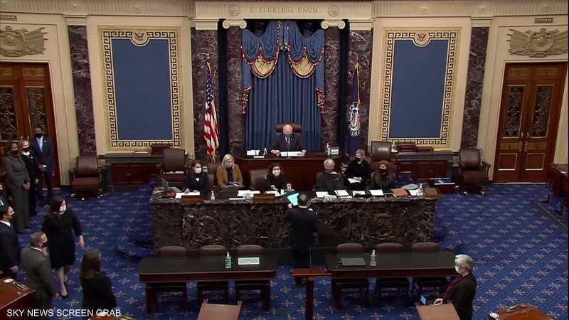 مجلس الشيوخ يتسلم رسميا لائحة الاتهام ضد ترامب