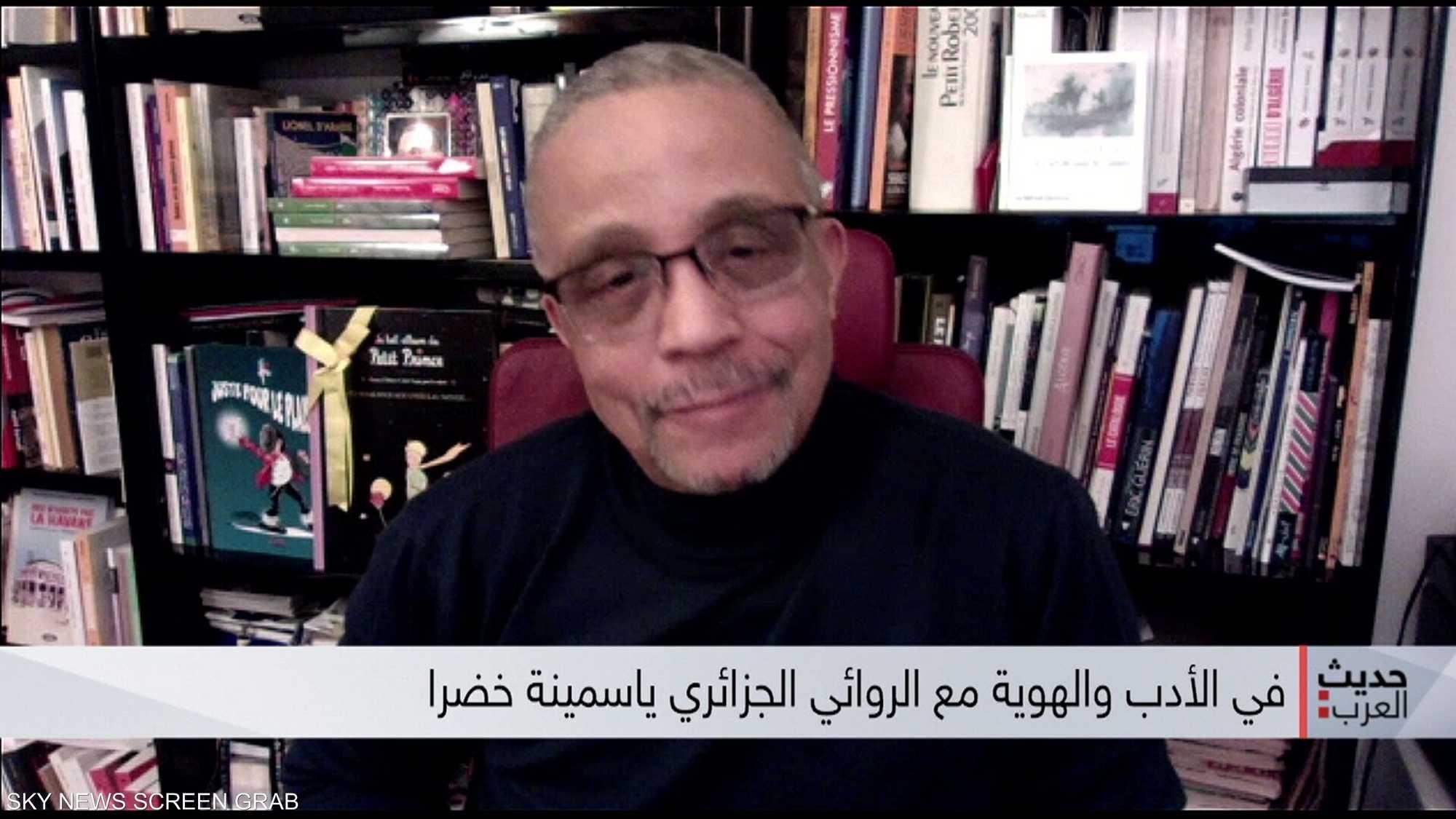 حديث العرب مع الروائي الجزائري ياسمينة خضرا