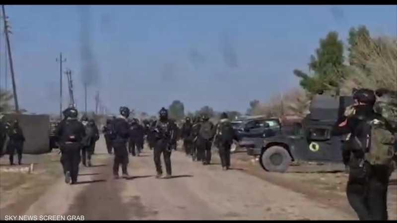 عملية أمنية واسعة شمال بغداد