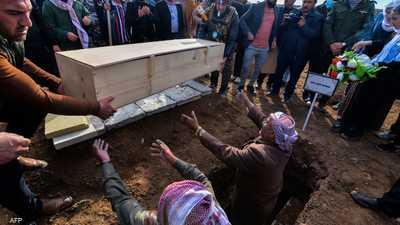 بما يليق بهم.. دفن رفات عشرات ضحايا داعش من الإيزيديين
