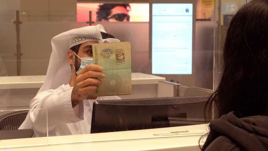 حبر المريخ يزين جوازات سفر القادمين عبر مطارات دبي