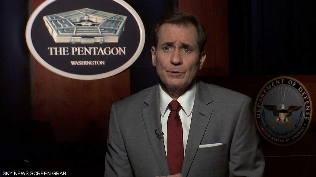 كيربي: واشنطن ترى في طهران عامل عدم استقرار بالمنطقة