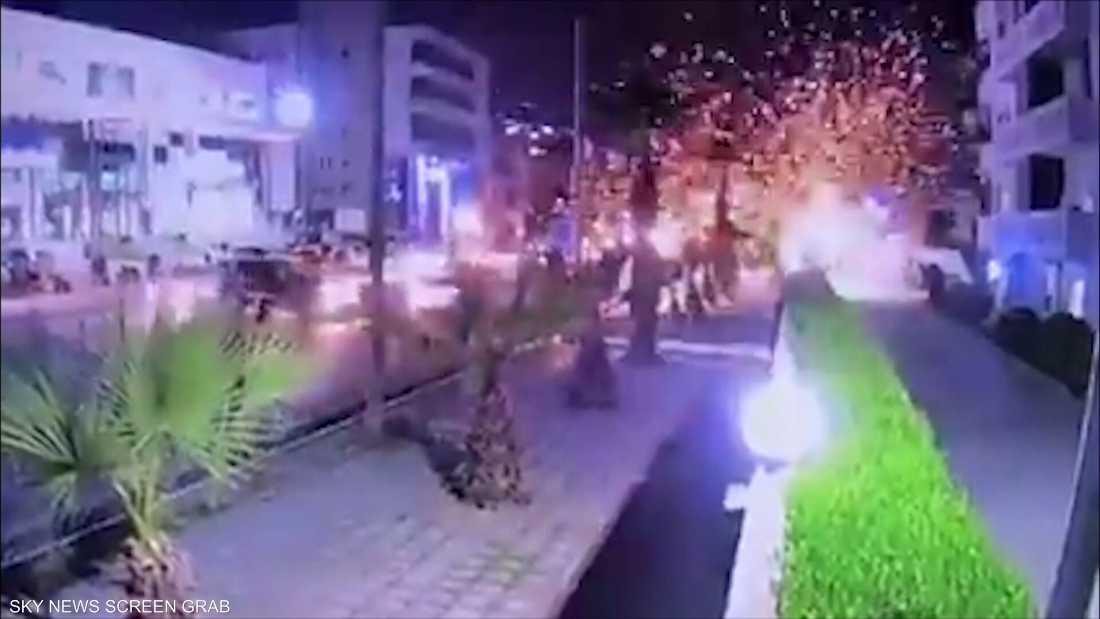 هجوم صاروخي يستهدف مطار أربيل وأحياء سكينة