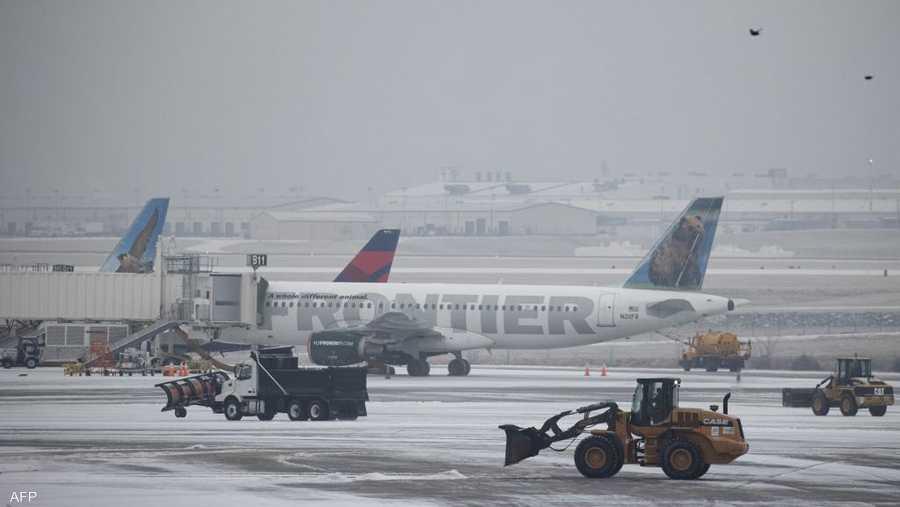 المطار في ناشفيل شهد شللا في الحركة