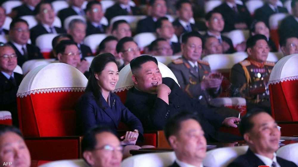 ظهور لافت لزوجة كيم بعد عام
