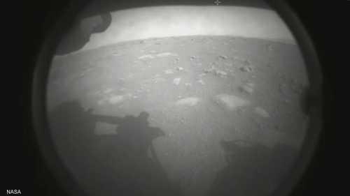 الصورة الأولى للهبوط على المريخ
