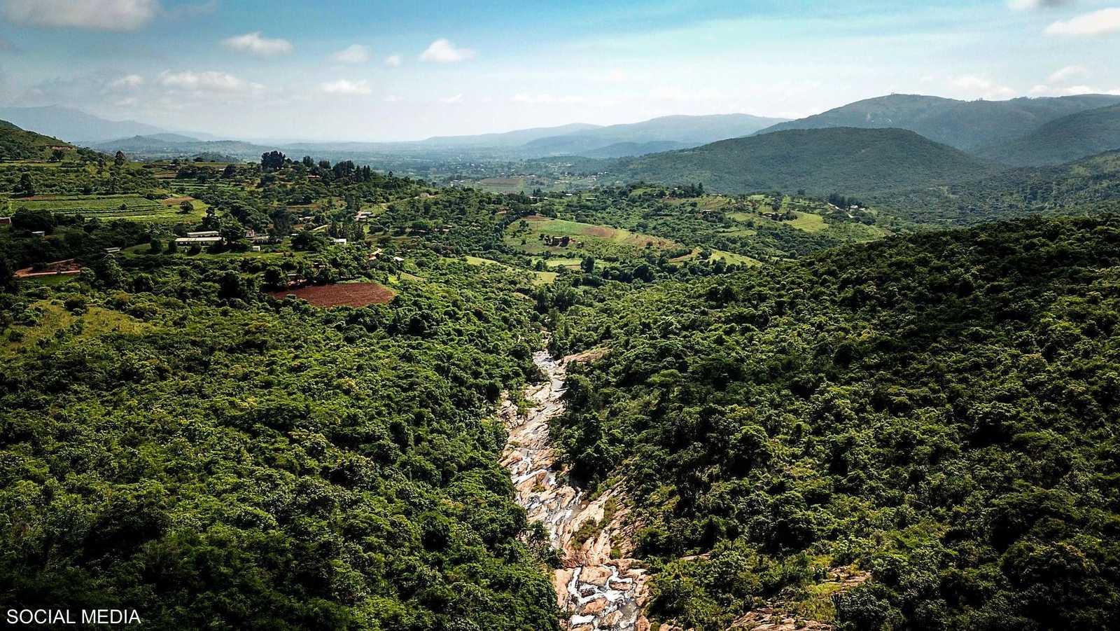 مناظر طبيعية خلابة في سوازيلاند