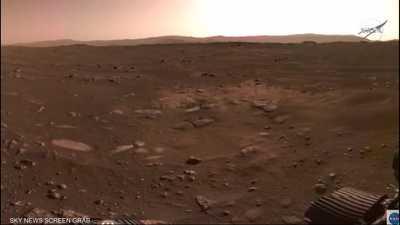 ناسا تنشر أول مقاطع صوتية من المريخ