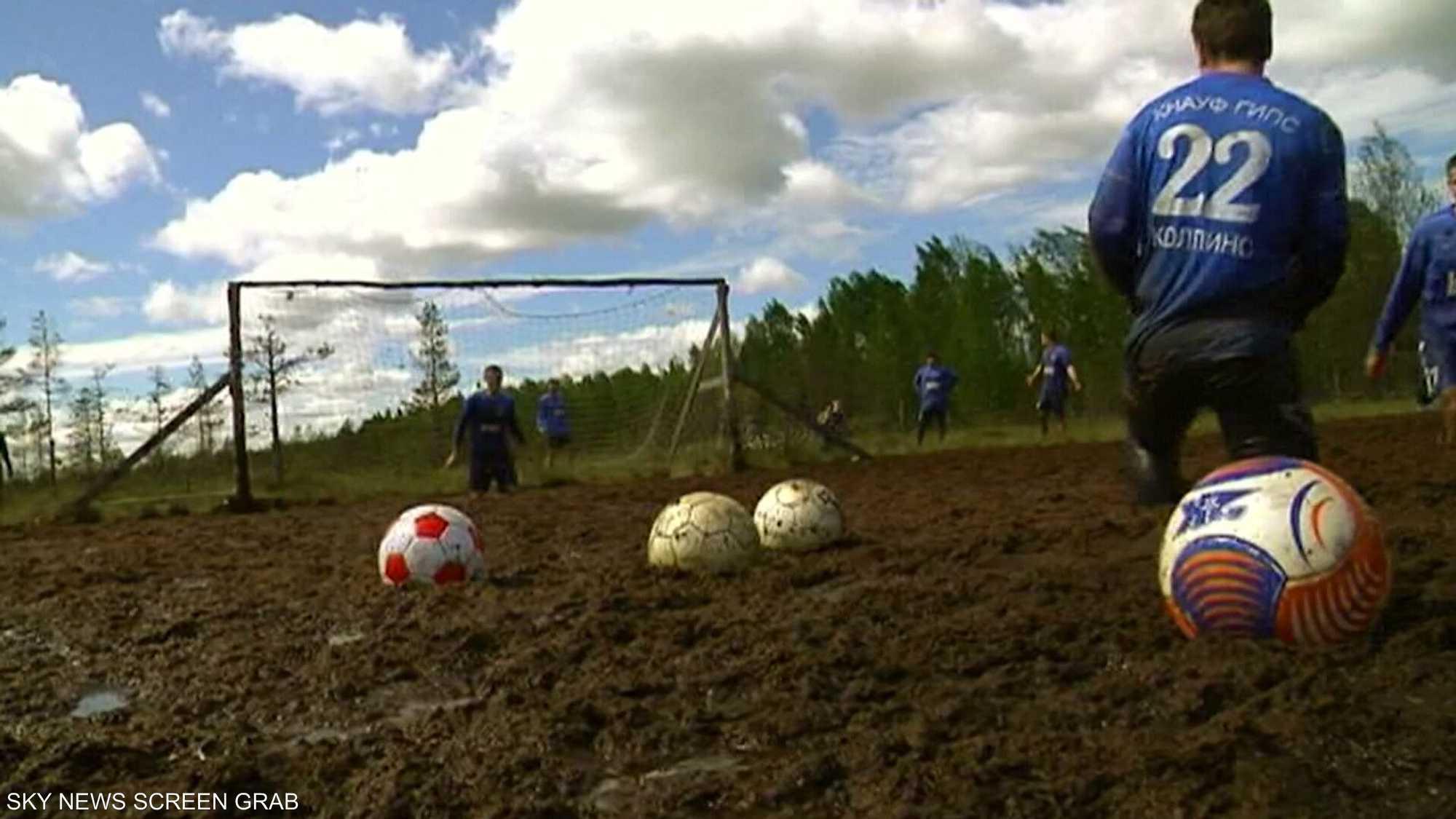 كرة قدم المستنقعات بدأت كتمرين عنيف للجنود في اسكتلندا