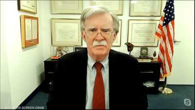 مواجهة مع مستشار الأمن القومي الأميركي الأسبق جون بولتون