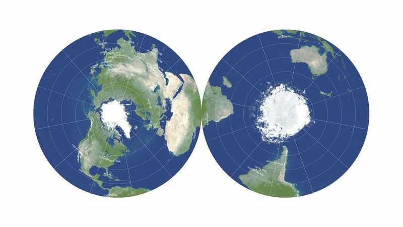 خريطة للأرض هي الأكثر دقة للأبعاد