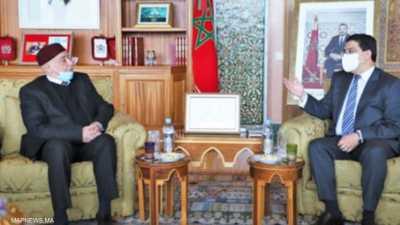 هدفان لزيارة عقيلة صالح للمغرب.. وترقب بشأن جلسة البرلمان