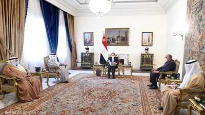 السيسي يؤكد ارتباط أمن الخليج بالأمن القومي المصري