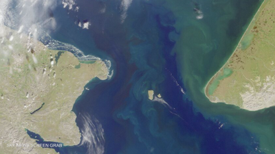 الجزيرتان تقعان في مضيق بيرينغ