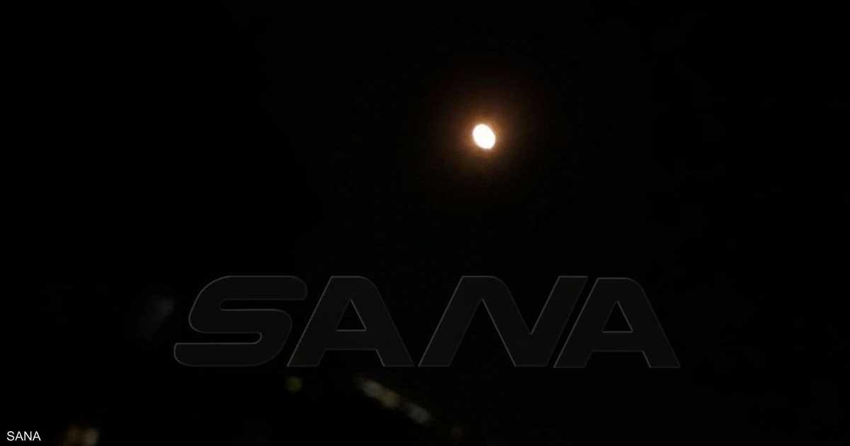 الجيش السوري يؤكد إسقاط معظم الصواريخ التي استهدفت دمشق