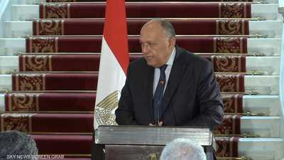 اتصال هاتفي بين وزيري خارجية مصر وإسرائيل