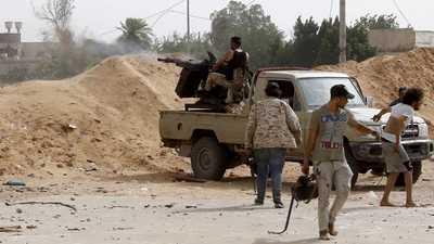 وصول طليعة وحدة مراقبين دوليين لوقف إطلاق النار إلى ليبيا