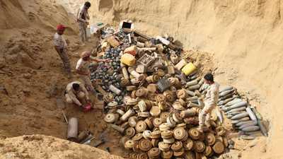 واشنطن تقول إن السعدي مسؤول عن زرع الألغام في اليمن