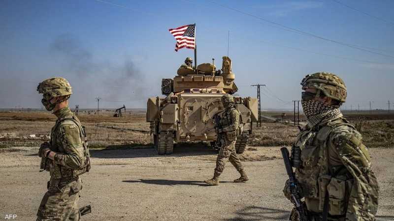 قوات أميركية في سوريا.