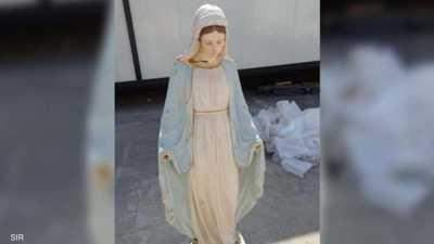 البابا فرانسيس يعيد الاعتبار للآثار المسيحية.. ويبارك تمثالا