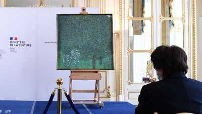 """بعد أكثر من 80 عاما.. فرنسا تعيد """"اللوحة المسروقة"""""""