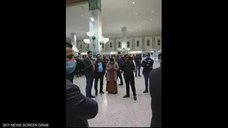 مطار تونس قرطاج شهد حالة من الفوضى