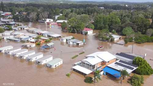 تركز الأمطار على ولاية نيو ساوث ويلز شرقي أستراليا