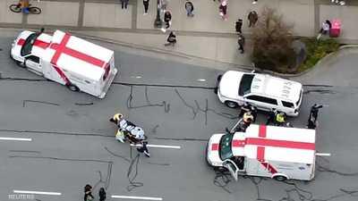 حادثة طعن داخل إحدى المكتبات في فانكوفر الكندية