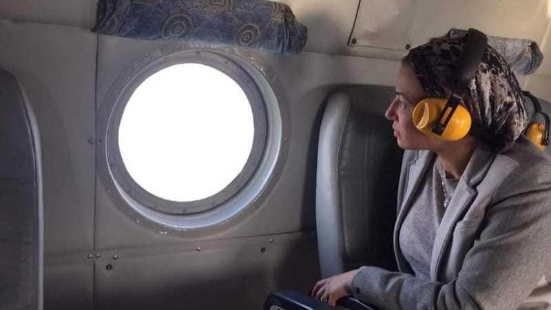 وزيرة البيئة المصرية تتفقد القناة