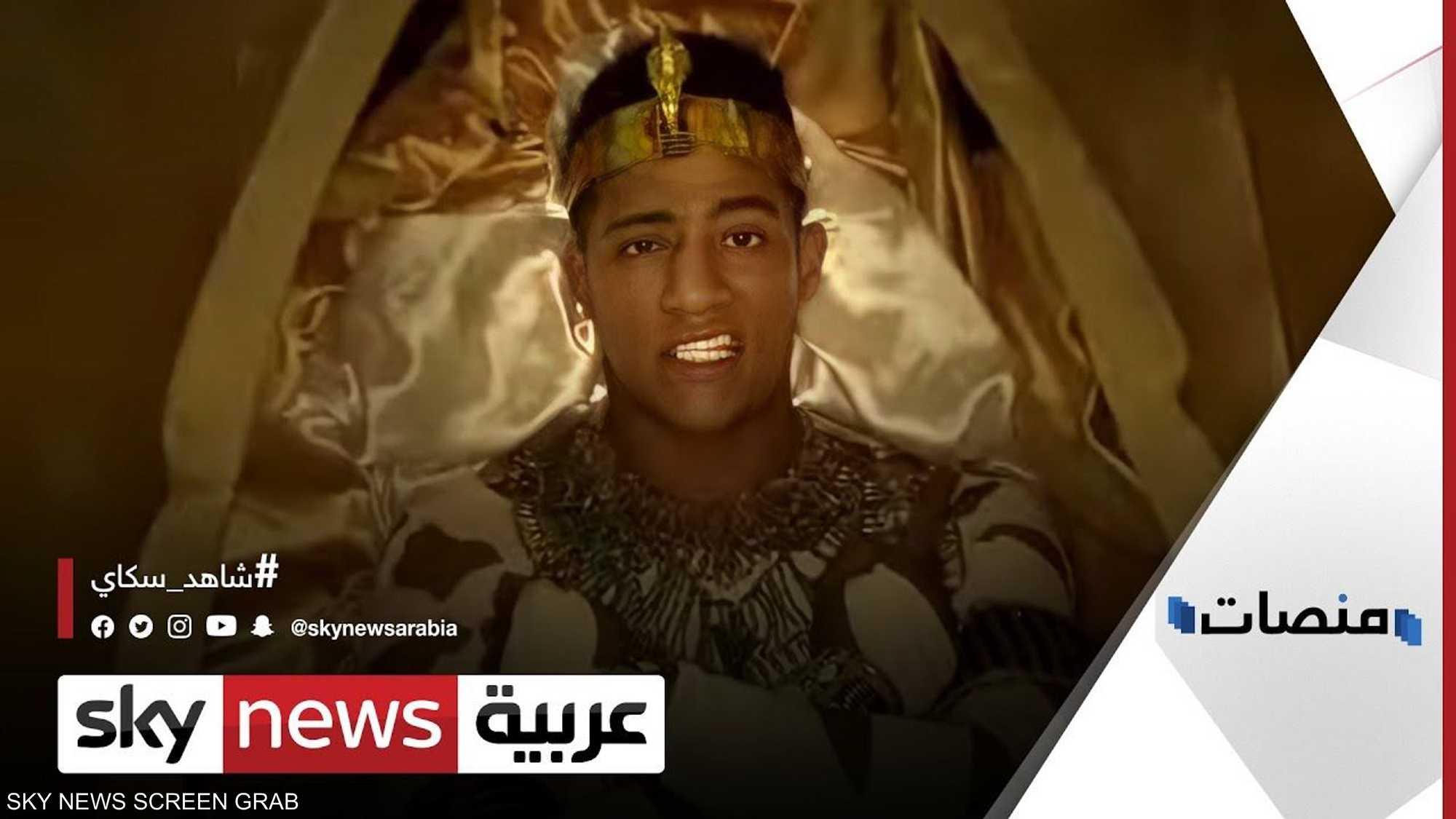 """محمد رمضان يعلن تجسيد """"الملك أحمس"""""""